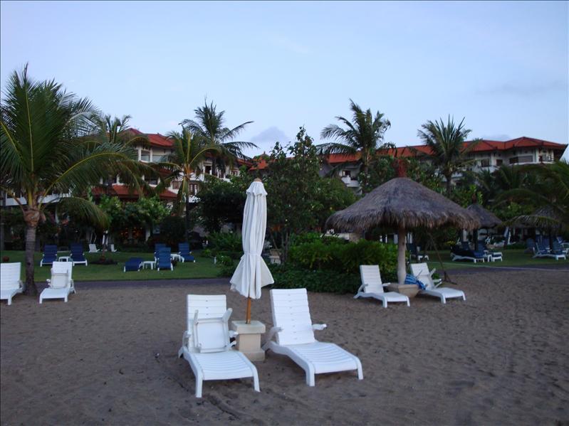 beach bali in the morning