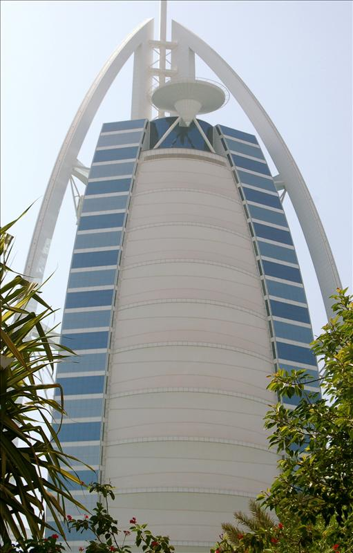 The Berj al Arab in Dubai