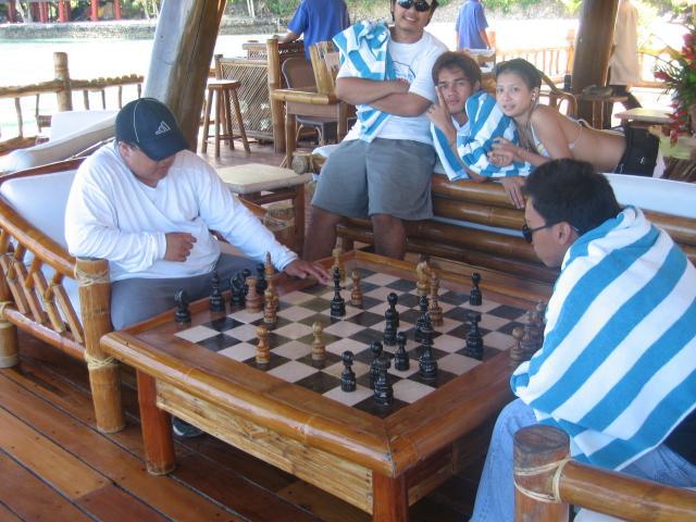 oversized chessboard