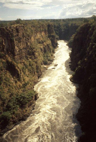 ZAMBEZI, ZAMBIA - MAR