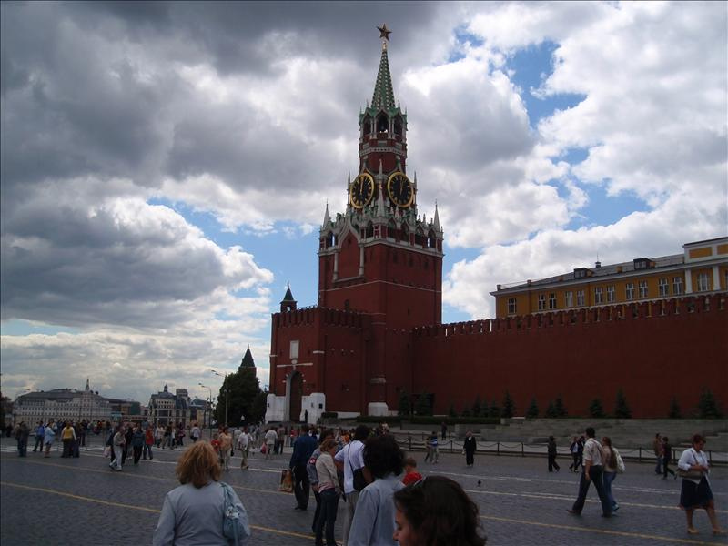 The Kremlin, as viewed from Red Square