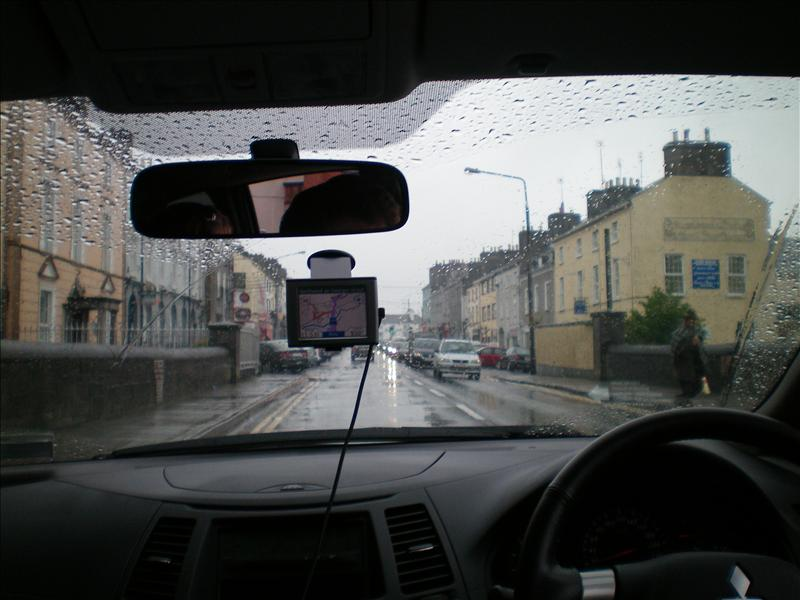 drivng in the rain