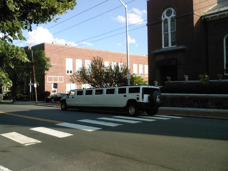 limo in hummer versie
