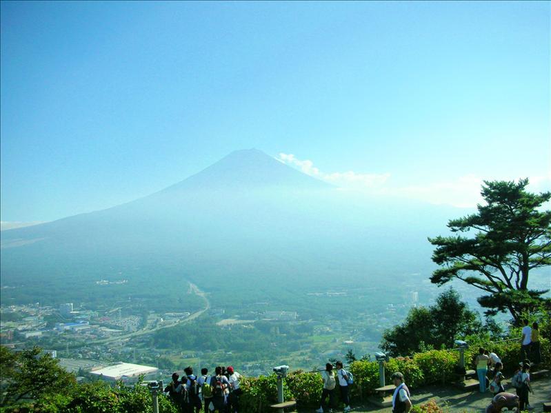 the majestic Mt FUJI