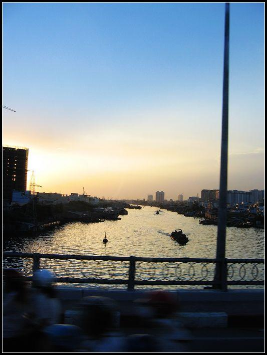Sunset of Saigon