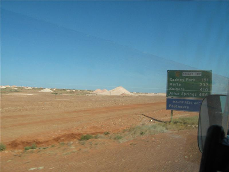 Mines in Coober Pedy