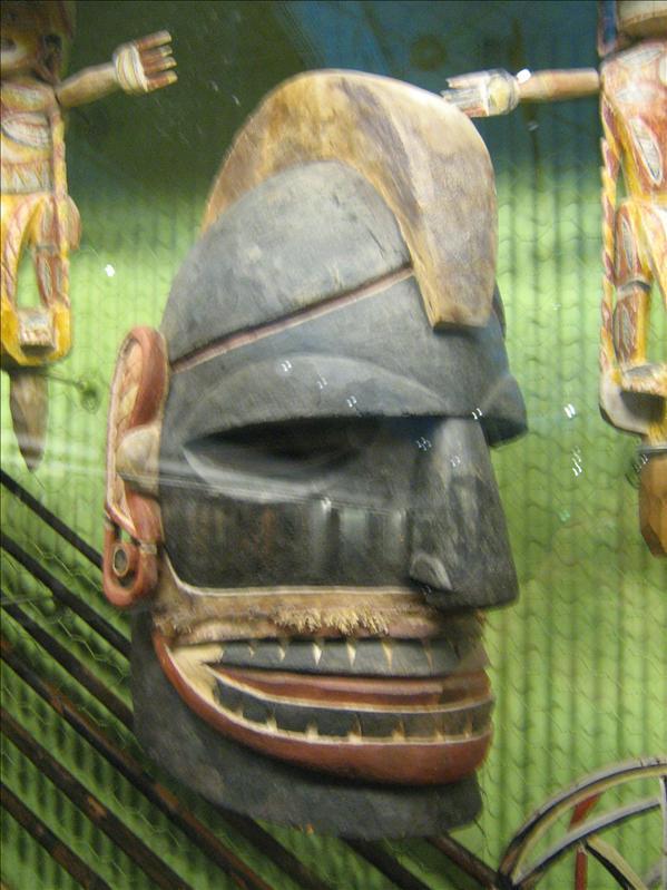 Aboriginal Exibit in Museum