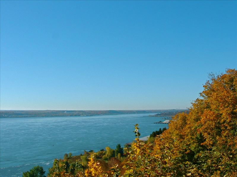 St Lawrence,view from Quebec City