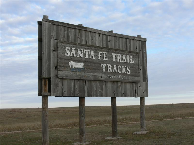 We're on the Santa Fe Trail