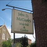 a night at Magurk's Irish Pub in Soulard St. Louis