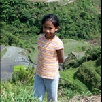 YOUNG GIRL, BANAUE RICE TERRACES