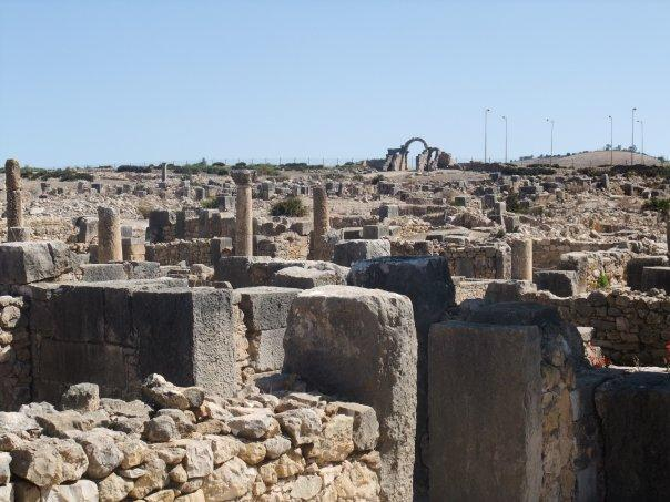 Volubilis la cité romaine
