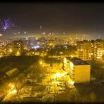 New Year Fireworks in Shumen