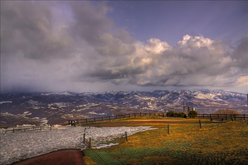 Lake Toya & Mount Usu