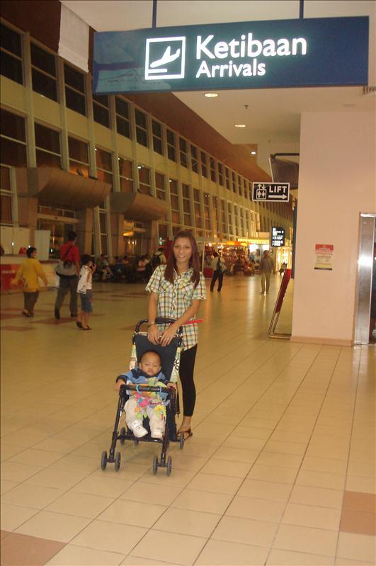 kota kinabalu airport, malaysia