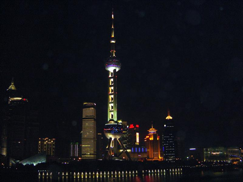 SHANGHAI PUDONG (浦 東) at night