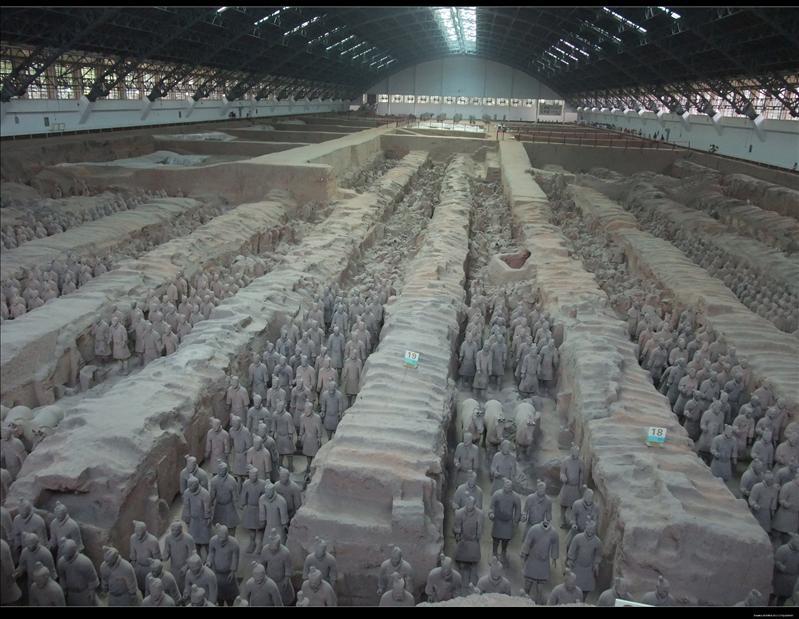 壯觀的地下軍團