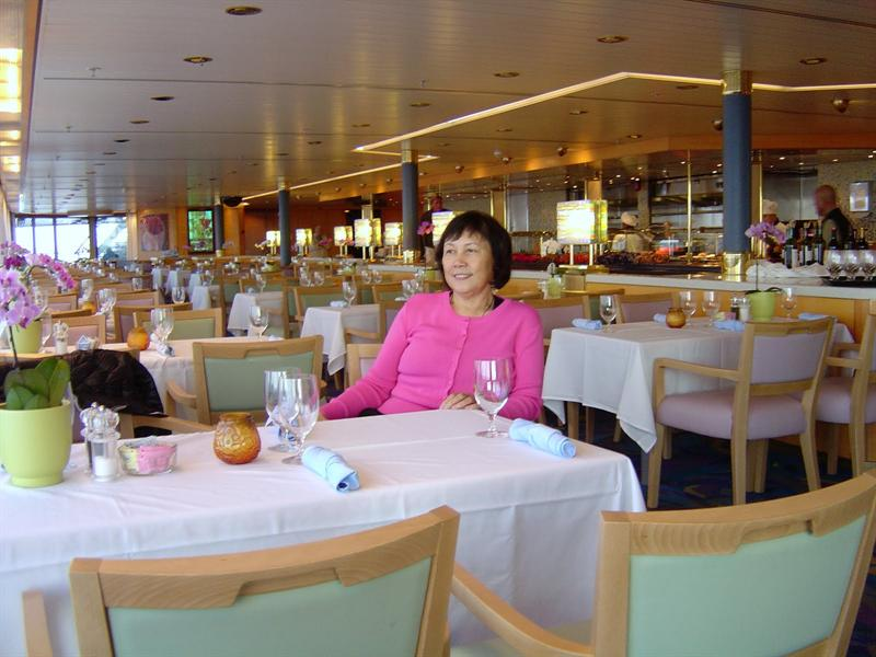 """Lido"" buffet restaurant (deck #8)"