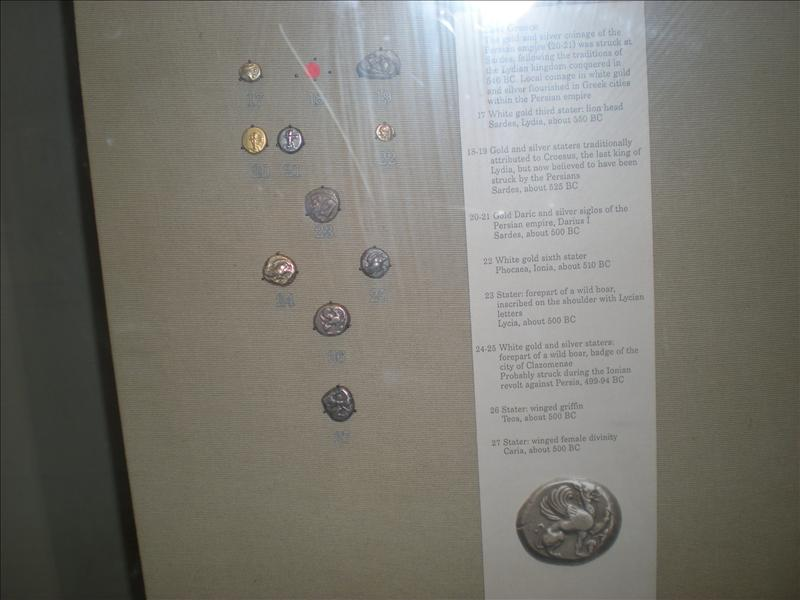 Ancient Persian Coins, British Museum - 19th May