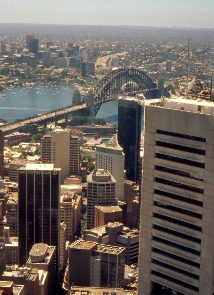 SYDNEY - VIEW OF THE BRIDGE