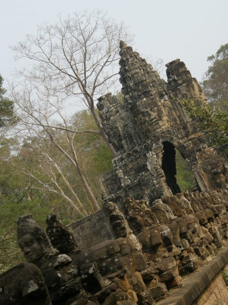 Entry to the Bayon.