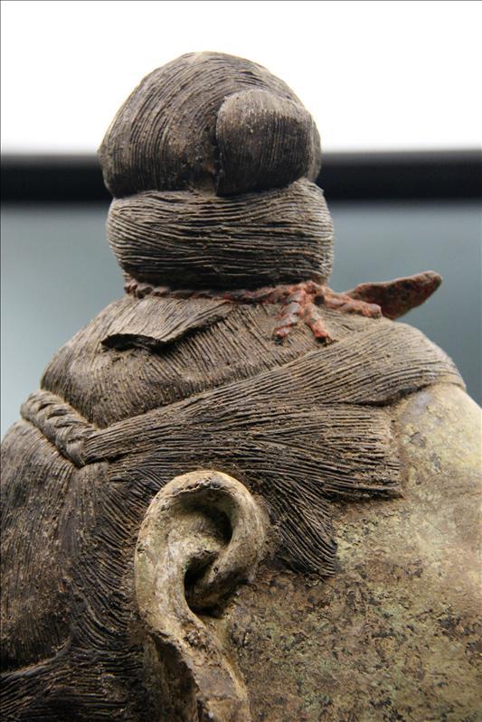 兵馬俑的髮絲