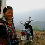 a warm welcome to Sapa by its locals