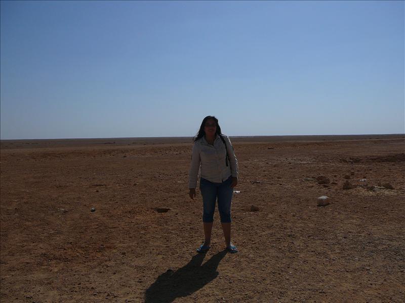 Meliza in de woestijn