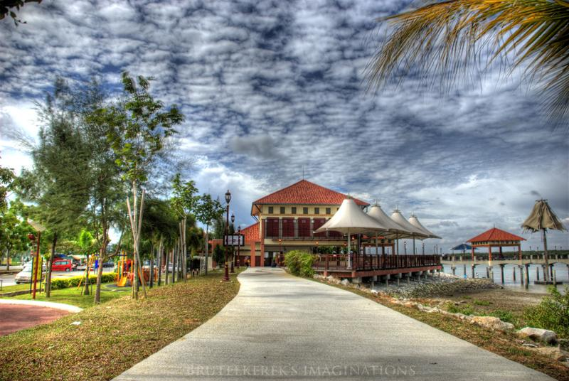 Pantai Pulau Indah on HDR