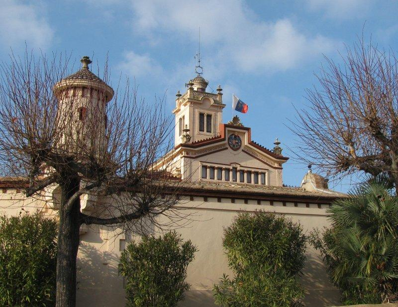 In the Garraf park is a Tibetan Buddhist Monastery...