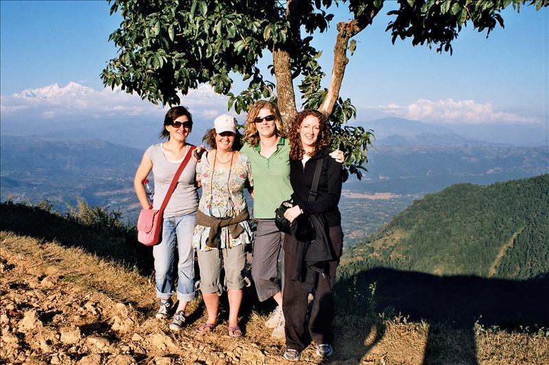 Becci, Sophie, Susan & me