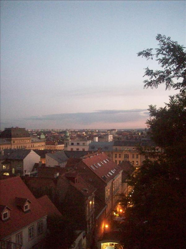 A view of Zagreb.