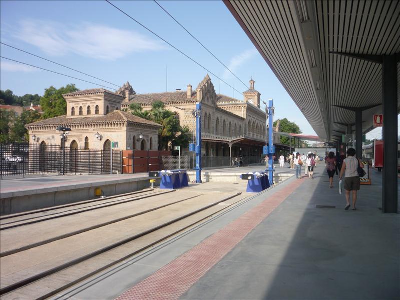 Toledo's train station.