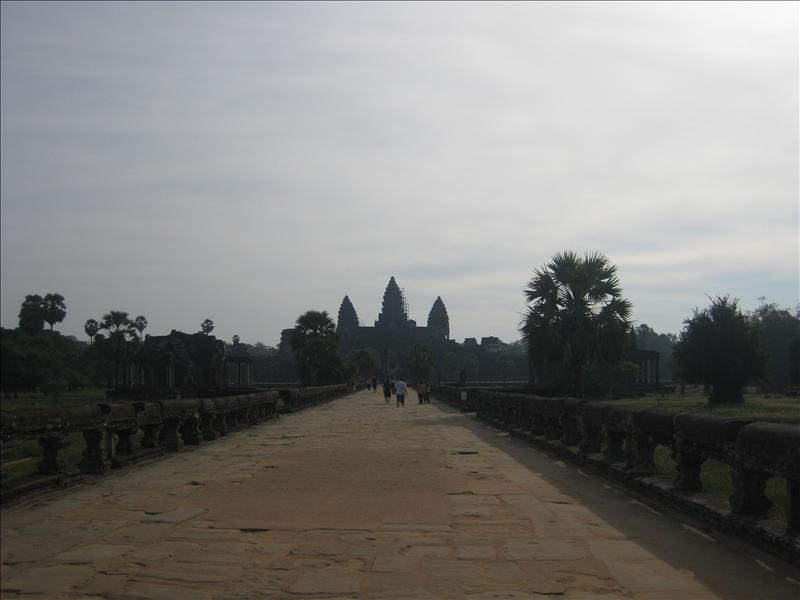 Angkor Wat is the largest, best-preserved and most breathtaking monument at the temple complex at Angkor in Cambodia built as a funerary temple for Suryavarman II in the 12th century.