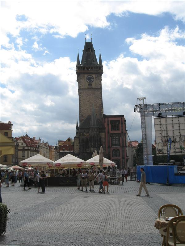 Square in Prague