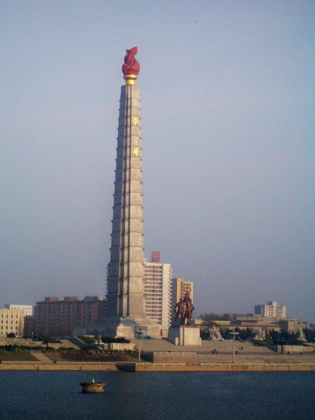 TOWER OF THE JUCHE IDEA, PYONGYANG