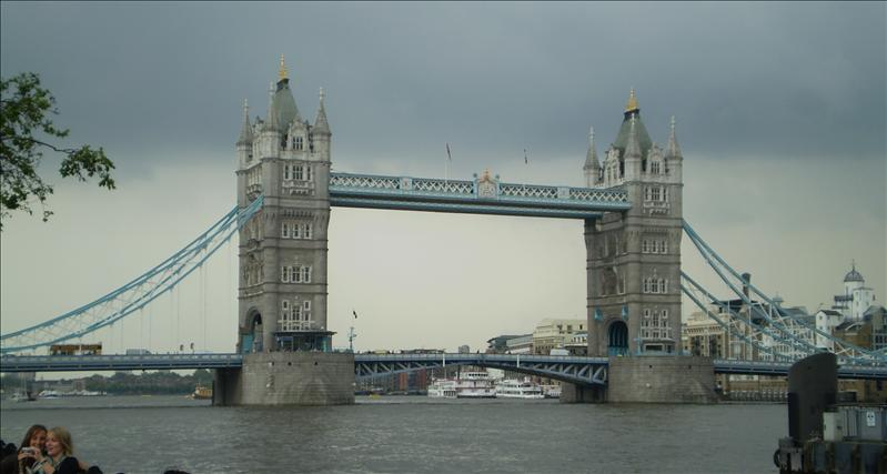 Next to our hotel was the Tower Bridge.