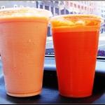 木瓜牛奶&紅蘿蔔汁