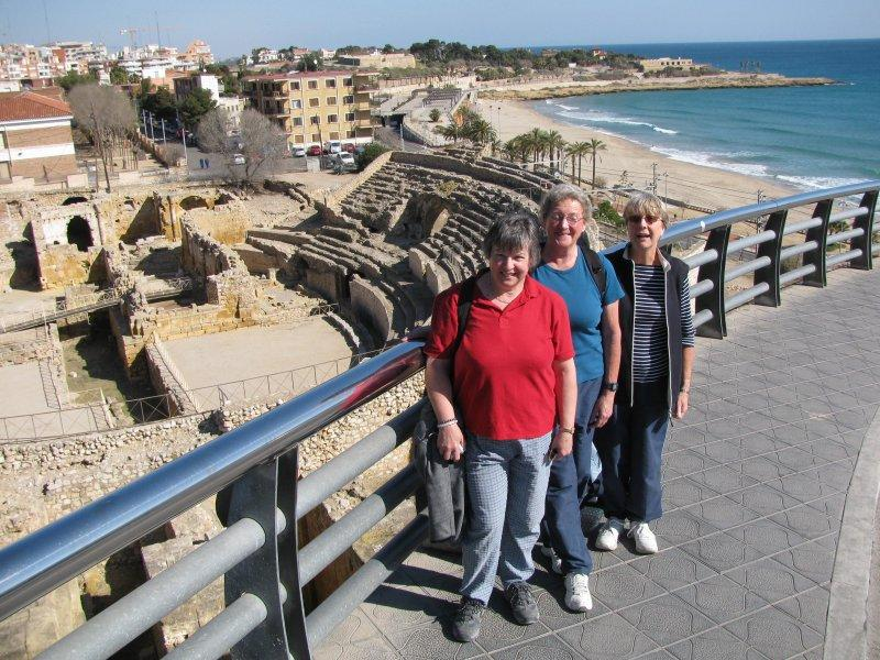 A trip to Tarragona includes the amphitheatre.....