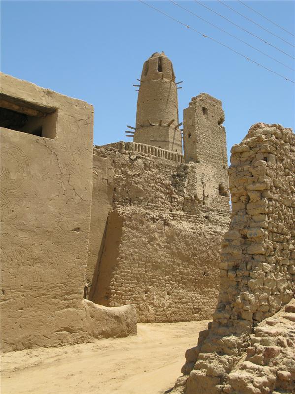 de oude onbewoonde stad