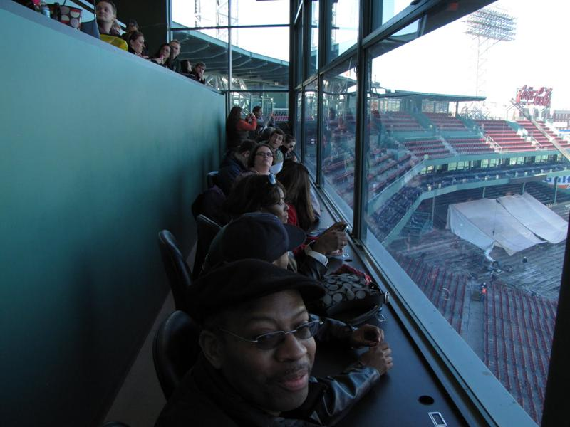 Fenway Park - Press Box - Boston, MA