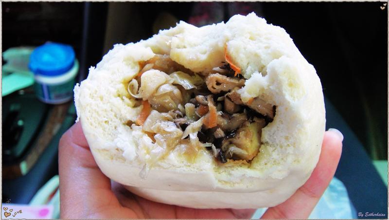香菇竹筍菜包斷面-2
