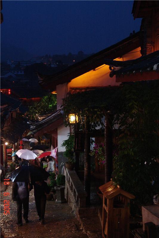 雨夜丽江、云南