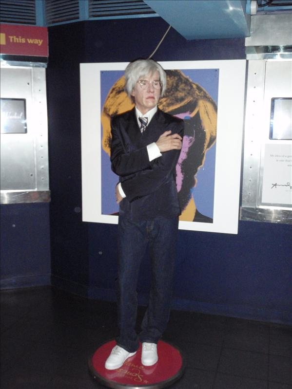 Andy Warhol, Madame Tussaude's Wax Museum - 20th May