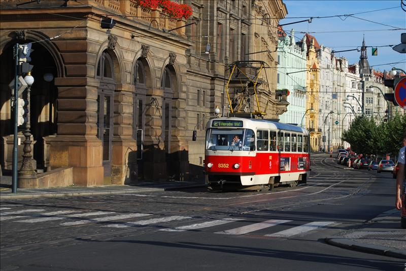 "The ""nostalgic tram"" runs through the city centre"
