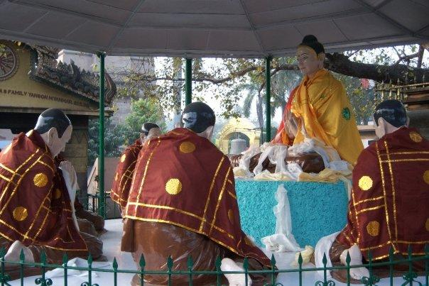 BUDDHA SERMON, SARNATH