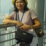 at the 44th floor of the Petronas Tower