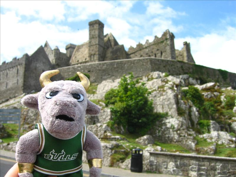 Rocky at the Rock of Cashel