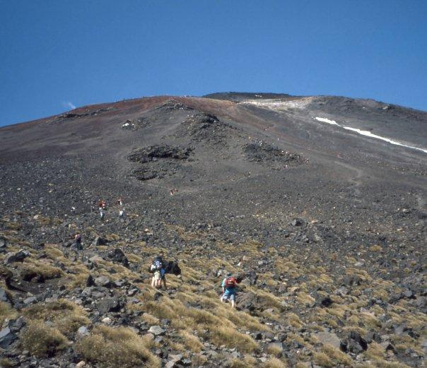 TONGARIRO CROSSING, NI - FEB 2004 - SETTING FOR 'LORD OF THE RINGS'