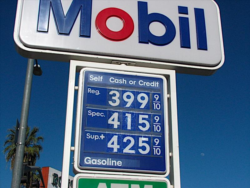 Ouch! Price of gas in LA